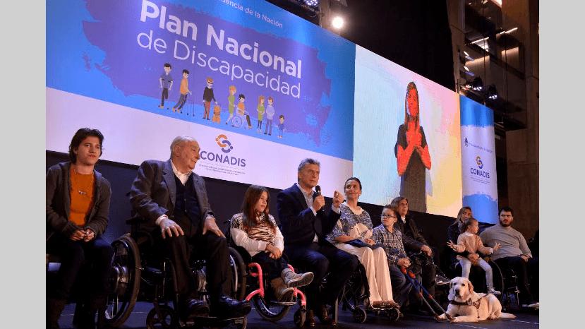 Cómo es el Plan Nacional de Discapacidad que presentó Macri