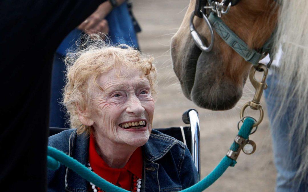 Equinoterapia para pacientes con Alzheimer: asombrosos resultados
